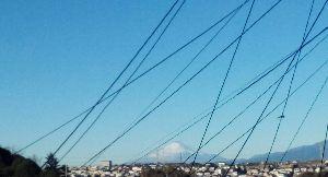 ★。・:*:・゚  お話しのキャッチボール 。・:*:・゚★ こんにちは♪  明日までお仕事です(*^^*)  今朝、完璧なまでの富士山が見えました♪  今年見納