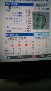 盛岡弁でお相手します(^^ゞ おはようございますじゃ~  今朝も今季最低で0.1℃で寒かったですじゃ~ AIで設定を変えれるから良