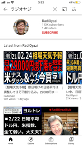 ^DJI - NYダウ 1日違い  まさしく曲がり屋に向かえ