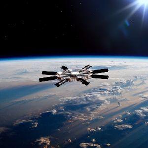 ^DJI - NYダウ 衛星軌道上にあるガスステーション(Space X)。 セルフですのでお気を付けください