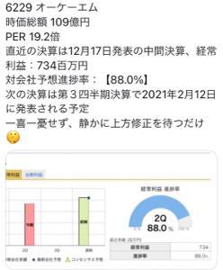 6229 - (株)オーケーエム 決算間近、売りたきゃ勝手に売れば良いお話w