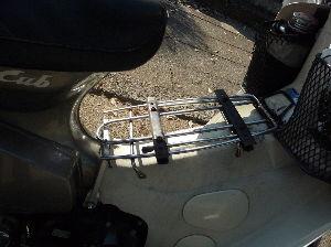 スーパーカブ ベトキャリ自作してみた 工具箱乗せて500km走って 問題なし