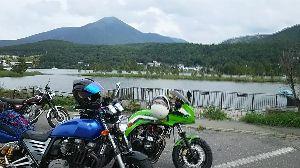 高山ライダーズ ここ最近唯一晴れた先週土曜に行ってきましたよぉ~ビーナスラインから白樺湖コース!やっぱ気持ちいっすね