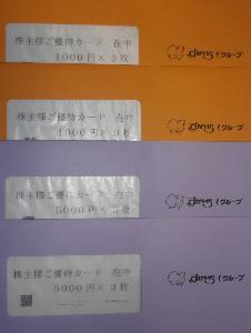 3058 - (株)三洋堂ホールディングス 優待カード キタ――(゚∀゚)――!! 年に2回💛  配当も(^^♪ 年に2度じゃよ