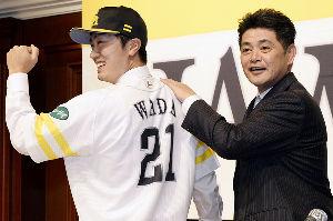 #21和田 毅 ホークスのエース、和田毅! 今季ここまでもエース級の大活躍、ありがとう。  しかし、本当に大切なのは