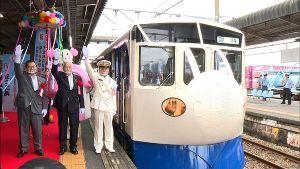 8267 - イオン(株) > 新居浜の新幹線は海を越えられないのでは?  四国にも新幹線もどきが走ってるんやで、ホレ&d