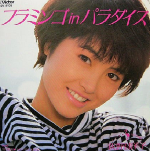 宙の独り遊び  いつまでも元気に活躍している荻野目洋子さんの  61年の歌です     フラミンゴinパラダイス