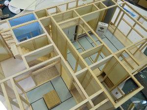 建築模型やってます。 現在、建築中