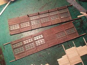 建築模型やってます。 今、製作しております、鉄道員詰め所です。蒸気機関車が、好きですので、まだ蒸気機関車が 活躍していた頃