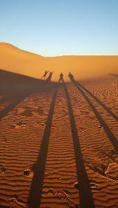 山を歩くのが好きです。 砂漠(*^o^*)