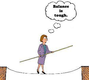 英借文の練習 The Tightrope Walk Of Work-Life Balance  ://www.jm