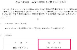 9853 - (株)銀座ルノアール 「昨日6/30期限」の優待券は、【 1年間延長 】してくれていたのですな。 (温存してたら、まだ1枚