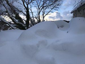 福井県の女子で初心者いますか? こんばんは〜 56年以来の大雪だそうです‼️ 車も消えました!仕事もお休み、スーパーには 食料があり