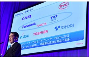 4080 - (株)田中化学研究所 五大陸さん  これトヨタのEVの電池、負極材はチタン工業製の可能性高いですね。  東芝がニオブチタン