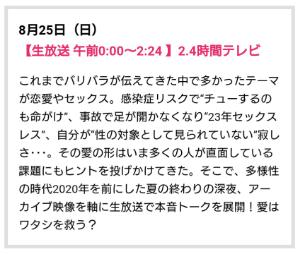 9404 - 日本テレビホールディングス(株) 24時間テレビよりも、裏番組の2.4時間テレビのほうが面白そうだな。  「障害者は子供を産むな」 「