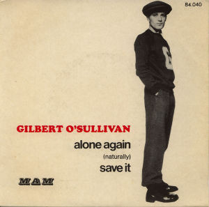 ...Across The Fence 【Gilbert O'Sullivan】  Alone Again (Naturally)