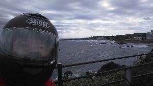 関東 バイク乗りの写真館 ( ´∀` )b 皆さん、おはよう☀️ございます。 8日、なぜか?降られました☂️ 犬吠埼です。 A.haru