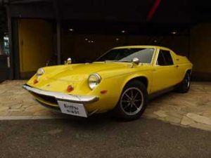 カンチャナブリ 車をかっちゃいました。 1973年式  ロータスヨーロッパ SP