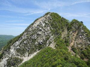 名古屋発 山旅 募集中 ♪ 鈴鹿山系の鎌ヶ岳に登ってきました。  コースは、三ツ口尾根-山頂-馬の背尾根-長石谷  シロヤシオは