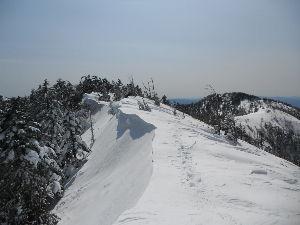 名古屋発 山旅 募集中 ♪ 1月25日、恩田大川入山に行きます。 参加者:さぶさん、よこちゃん、ハセヤマ アイゼン、スノーシュー