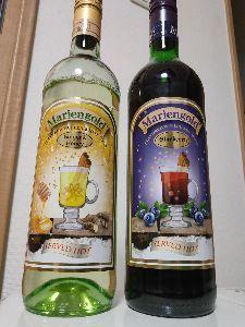 ほっこり☺︎ 久々の〜😀 ブルーベリーとジンジャーハニーの グリューワイン〜😀