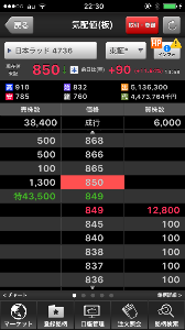 4736 - 日本ラッド(株) 最後のコレはなんでつかねWWW