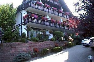 2012年ヨーロッパの田舎の旅 1 ザスバッハヴァルデン続き   ペンションです。一階すべてが使用できました。バス室、シャワー室、厨房、