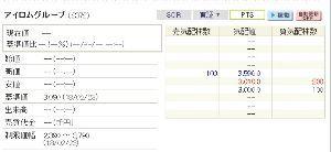 2372 - (株)アイロムグループ PTSで誰も売る気無いの?(*´-ω・)ン?
