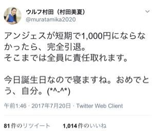 4563 - アンジェス(株) あと115円です! ウルフ先生!!