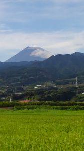 お話し しましょ~♪ cooさん もう見てないかな? せろんちからの富士山だよ  もっといっぱい撮るつもりだったけど&he