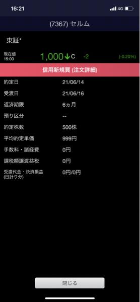 7367 - (株)セルム 追加したぜ