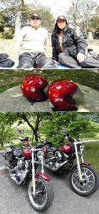 夫婦ふたりでツーリング 自己紹介:Go my way  乗りたいバイク乗れるバイクに58年乗っています。  メリット/デメリ