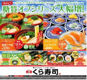 2695 - (株)くらコーポレーション 【 糖質オフシリーズ 大幅増 】