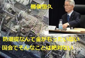 9501 - 東京電力ホールディングス(株) 東電の海外逃亡者 勝俣恒久