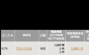 6176 - (株)ブランジスタ この状況で【ジョジョと茶色いゴリラ】が一番登場したいはず❗  寺社株の今後の一気買いの展開期待してる