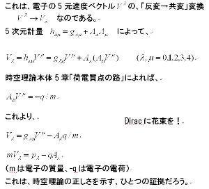 時空理論 ●先日、フリーエネルギーの実験結果を説明するために、 アハラノフ・ボーム効果を調べていると、「Dir