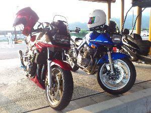 バイク仲間募集中! そうですか! じゃ またの機会にでも。。。?