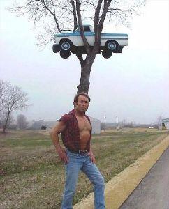 暇潰しにいかがでしょう??画像入り山手線ゲーム!! 2.なぜ 車が木の上にぃ~~(微笑)  ナポピィ~  カオリン 睡魔に襲われ中!!(微笑) 寝落ちし