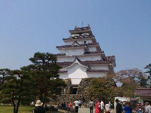 ♡旅行記♡ 福島会津若松城 昨年4月の終わりぐらいです