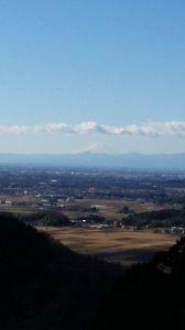 もう良いじゃないか。 富士山が見えました🗻 栃木県栃木市の大平山、謙信平からの眺めです