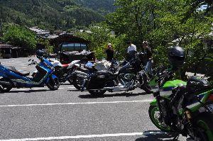 バイクのツーリング仲間募集 豊橋近辺 お~~と、haseさん走りも早くHPをあっと言う間に作成とは^-^:サスガ~ 主のyanさんは之で又