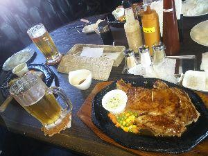 長崎発 オヤジライダー復活祭り 昼飯
