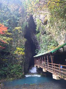 長崎発 オヤジライダー復活祭り さて、次は⁉  秋芳洞👋