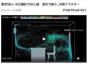 6291 - 日本エアーテック(株) 私も今、記事読んでました。 1時間に2回の全空気を入れ替えるほどの換気なんか事実上ムリです。 日本エ