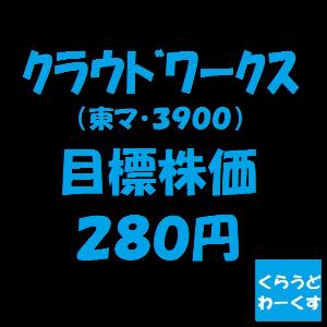 3900 - (株)クラウドワークス †Target Price†