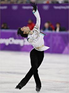 あいうえお時事川柳  『満面の 笑みと涙が 美しい』   冬季平昌五輪のフィギュアスケートで、見事に金メダル二連覇を達成
