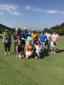 平日兵庫で安く楽しくゴルフしませんか。 今日は暑い中、お疲れ様でした。 次回は9月10日にチェリーヒルズで、開催しますので、都合の合う方は参