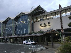 道の駅 車中泊とスタンプと・・・ おはようございます、  鹿児島、出水駅、迄やって来ましたよーー