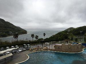 道の駅 車中泊とスタンプと・・・ 昨夜は台風なみの風雨、 ホテルに避難しましたよ、 長崎県、ですね