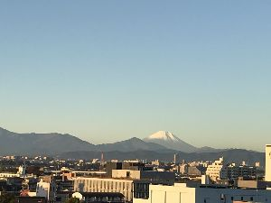 道の駅 車中泊とスタンプと・・・ お久の富士山です、
